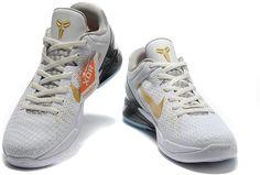 sale retailer 3712b a1d4d Zoom Kobe VII System Elite White Gold Black Nike Air Max Mens, Nike Air Max