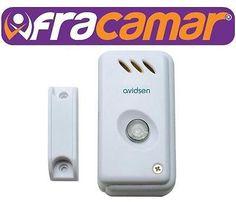 Mini allarme autonomo magnetico - Protezione porte AVIDSEN COD. 100300 SUONERIA