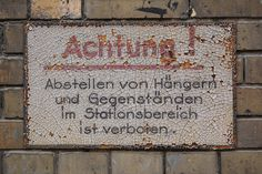 Achtung! by Florian Hardwig, via Flickr