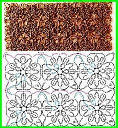 DE MIS MANOS TEJIDOS Y MAS...: Puntos a crochet