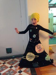 Solar system costume Glows in the dark! DIY