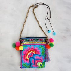 The best online store for fun and fashionable kids accessories. Collections of jewelry and designer boho pom pom bags, necklaces and bracelets for great gifts. Boho Fashion, Kids Fashion, Boho Designs, Embroidery Fabric, Number Two, Gold Beads, Boho Style, Lilac, Gypsy