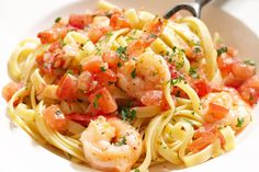 Curtis Stone's prawn fettuccine with chilli, tomato & parsley makes the perfect weeknight meal for the whole family.