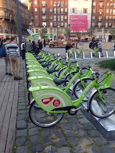 Bike Budapest (BUBI) - New system in 2014
