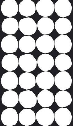 Kivet heavyweight cotton fabric by Marimekko Upholstery Cushions, Furniture Upholstery, Upholstery Repair, Upholstery Cleaning, Designers Guild, Marimekko Fabric, Ideas Prácticas, Wall Ideas, Types Of Curtains