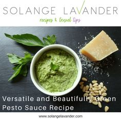 This pesto sauce is an explosion of flavour and smells delicious, especially when you use fresh ingredients, good quality cheese and a good extra virgin olive oil. Find the recipe on my latest blog post.