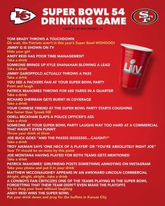 """NFL MEMES on Instagram: """"Tag a friend you're playing this with"""" Super Bowl Drinking Game, Drinking Games, Super Bowl 54, Kansas City Chiefs Football, Nfl Memes, Tom Brady, Funny Stuff, Red, Instagram"""