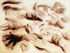 Figure Drawing: Hand Studies