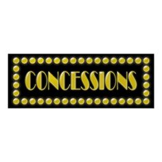 Hollywood Discover Hollywood Lights Concessions Sign Movie Party Poster Add this concessions sign to your treats table at your Hollywood themed birthday or graduation party! Movie Theater Party, Movie Night Party, Movie Nights, Game Night, Hollywood Lights, Hollywood Theme, Now Showing Movies, Hollywood Decorations, Hollywood Birthday Parties