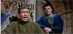 Becket fellow actors Richard Burton and Peter O'Toole were both nominated for Best Actor and the film was also nominated for eleven other awards including Best Supporting Actor for John Geilgud.