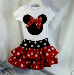 Children Clothing Baby Clothes Minnie Mouse by MontanaTwirls