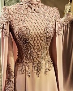 No automatic alt text available. Muslimah Wedding Dress, Muslim Wedding Dresses, Muslim Dress, Muslim Fashion, Hijab Fashion, Fashion Dresses, Gown Pattern, Dress Patterns, Beautiful Dresses