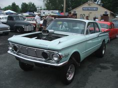 a wickedly awesome 1963 mercury comet gasser