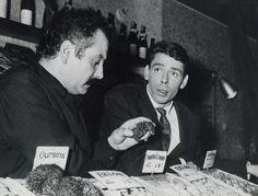 Jacques Brel, Georges Brassens (1959). Deux géants. Mon Maitre