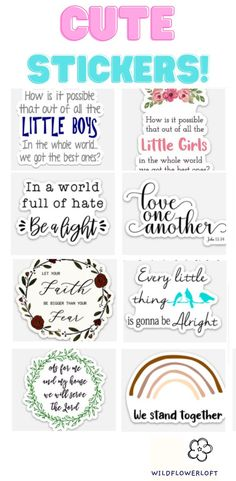 #stickers #socute #christianstickers #worldfullofhate