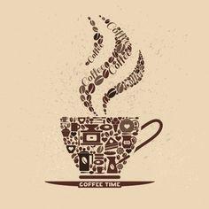 - Coffee Icon - Ideas of Coffee Icon - Coffee Icon, Coffee Cafe, I Love Coffee, My Coffee, Coffee Break, Coffee Grain, Coffee Artwork, Coffee Accessories, Coffee Poster