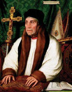 Hans Holbein - William Warham, Archbishop of Canterbury