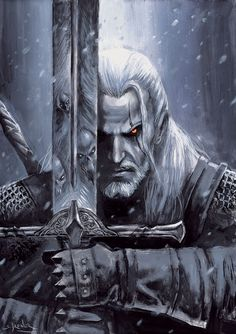 Witcher by sebastien-grenier