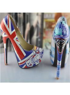 Fashionable Platform Stiletto Heels with  Assorted Colors Women Shoes