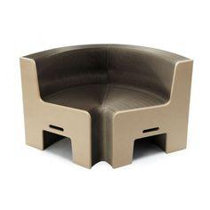 Earth 8, canapé extensible, carton, fauteuil modulable, FlexibleLove.