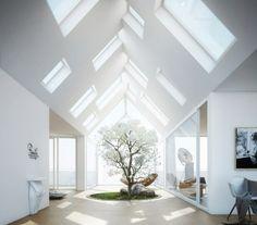 Moderne Raumgestaltung – Deko Idee für Interieur im Haus