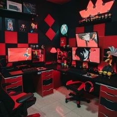 Inspiring Battle stations Designs For Gamers Gaming Desk Setup, Best Gaming Setup, Computer Setup, Gaming Desk Lighting, Computer Gaming Room, Computer Technology, Office Setup, Pc Setup, Simple Computer Desk