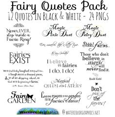 These droppable art quotes seem to hover and flit about. You might find the screen blinks - but just once - because these quotes are about fairies! They aren't all quotes, some are for the things you