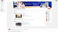 Custom Social Media YouTube Graphics for Sheldons Heating and Air by CI Web Group
