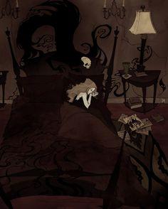 Pretend to Sleep by AbigailLarson.deviantart.com on @deviantART