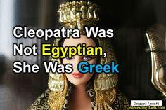 Cleopatra fact