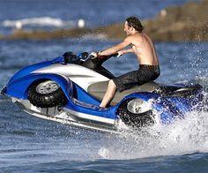 Quadski - Amphibious ATV   DudeIWantThat.com
