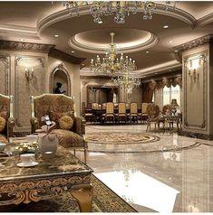 Regal Luxury Mansion Interior Design