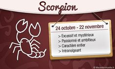 Signe Astrologique du Scorpion