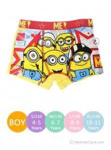 Celana Dalam Anak Lycra Boys Boxer Despicable Me Rp. 25.000  kunjungi: www.melindacare.com atau hubungi 081321148408 dan Pin 765BEE5E