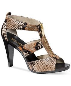 MICHAEL Michael Kors Berkley T-Strap Sandals Macys