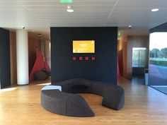 One of our Converge/Diverge instalations at UPTEC 's Lobby #ideiam #productdesing #cork