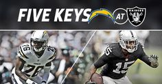 Five keys to the game when the Bolts visit the rival Raiders.