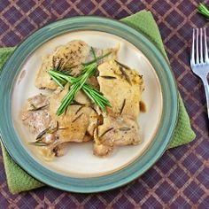 Dutch Oven Rosemary Chicken