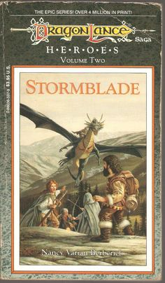 Stormblade. by Nancy Varian Berberick. Dragon Lance, Heroes Volume Two.