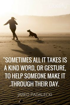 All it takes is a kind word. Make It Through, Kind Words, Non Profit, Acting, Spirituality, Take That, App, Movie Posters, Inspiration
