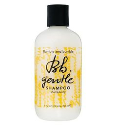 #Bumble and bumble Gentle Shampoo 250ml 10145446 #80 Advantage card points. Bumble and bumble Gentle Shampoo moisturises and adds shine as it gently cleanses - a must for dry, damaged, chemically treated or overstyled hair. FREE Delivery on orders over 45 GBP. (Barcode EAN=0685428001022)