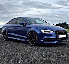 • Sepang Blue + Black Optics = perfection. • By: @bailando_86 Car: 2015 @Audi S3 Sedan HP: 2.0L TFSI 300hp 0-62mph/100kmh: 4.4 sec Follow⬇⬇⬇ @audi__germany @audicarsworld @audi_regram @audipixs #audi #rs3 #audirs3 #a3 #s3 #sportback #supercar #sportscar #quattro #caroftheday #photooftheday #unique #love #yolo #speed #tuned #luxury #audir8 #wantanr8 #rs #teamaudi #beautiful #amazingcars247 #cars #photography #follow #instacool #instamood #supercar #sportscar