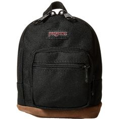 JanSport Right Pouch (Black) Backpack Bags ($18) ❤ liked on Polyvore featuring bags, backpacks, pocket pouch, jansport tote, jansport backpack, pocket tote and mini rucksack