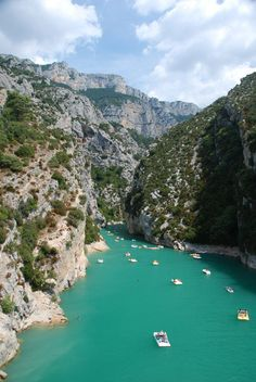 The Gorges du Verdon Travel Attractions, Facts & History -