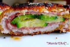 Cordon-bleu farci au bresaola et à la courgette - Recette facile - Marciatack.fr