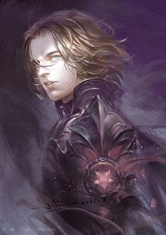 Bucky as the knight of darkness.. (No, not batman. The original Vlad Dracula - he's of Romanian roots after all :3)