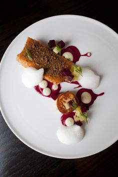 Top 50 New Restaurants - Borough, Minneapolis MN - Bon Appétit Food Plating, Plating Ideas, Steak And Seafood, Minneapolis, Fine Dining, Bon Appetit, Entrees, Catering, Tasty