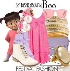 Festival Fashion: Boo | Monsters, Inc.