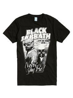 7202c122 t shirts black sabbath metal rock | Black Tshirt Dress Outfit | T shirt,  Black sabbath t shirt, Rock t shirts