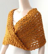 Doris Chan Design: Snow Day Lace Mobius Crochet Cowl Scarf